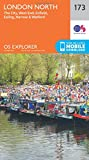 London North, The City, West End, Enfield, Ealing, Harrow & Watford 1 : 25 000 (OS Explorer Map)