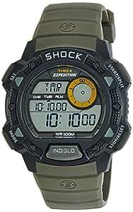 Timex Shock Digital Grey Dial Men's Watch - T49975