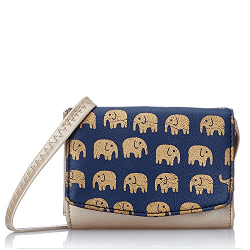 Peperone Women's Wallet (Champange) (PWLC838)  available at amazon for Rs.599