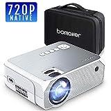 Projecteur BOMAKER 3600 Lumens Native 720p Mini Vidéoprojecteur Prise en Charge Full HD 1080p de...