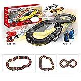 Best Juguetes Niños eléctrico de velocidad - Furuisilintrade Racing Track Coche, carreras de carreras con Review