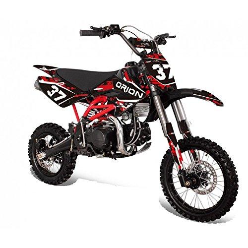 """Pit Bike Moto Cross Apollo Orion AGB-37 CRF 125cc - Motor 4 tiempos - Ruedas delantera 14"""" y trasera 12"""" - Ideal para competición - Max 90Km/h"""