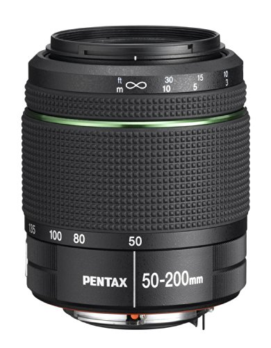 Pentax Obiettivo SMC-DA, 50-200 mm, F/4-5.6 ED WR, Nero