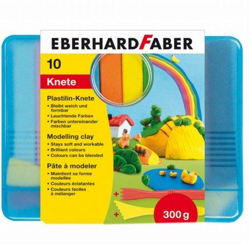 eberhard-faber-572010-plastilin-knete-kunststoffbox-10er