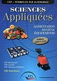 Telecharger Livres Sciences Appliquees Cap Prof Maj 2011 (PDF,EPUB,MOBI) gratuits en Francaise