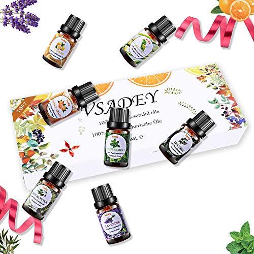 VSADEY Top 7 Aceites esenciales para humidificador...