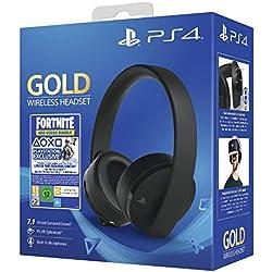 Casque sans fil pour PS4 - Gold Edition + Code Fortnite (Digital)