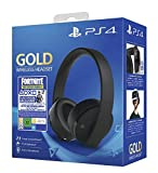 Casque sans fil pour PS4 - Gold Edition + Code Fortnite (Digital)