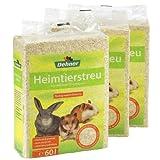 Dehner Heimtierstreu, 3 x 60 l (3 x 3,6 kg)