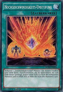 Hochgeschwindigkeits-Umstufung - BOSH-DE058 - Yu-Gi-Oh - deutsch - 1. Auflage - NIFAERA Spielwaren