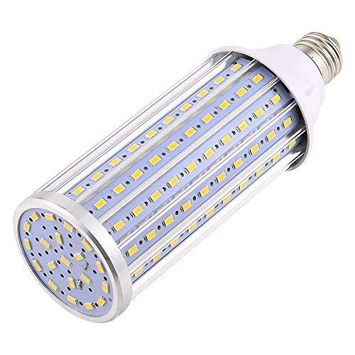 Sandy Cowper LED-Glühbirne E27 / E26, Mais-Glühbirne, 60 W, Ersatz für Halogenbirne 600 W AC 85-265 V 160 LED 5730SMD LED-Licht aus Aluminium für Pfostenbeleuchtung Garage Lager Porche Blanco Natural -