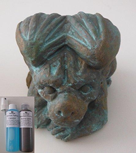 Bronzefarbe, Reaktiv, Patina-Effekt, für Kunst, Handwerk und Dekoration