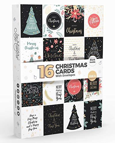 Joy Masters - 16 Tarjetas Navidad - Caja Christmas
