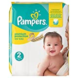 PAMPERS New Baby Taille 2 3-6 kg x54 couches