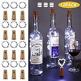 Led Flaschen Licht,Etmury 20 LEDs 2M Flaschenlicht Lichterketten für Flaschen,Korken Licht Led...