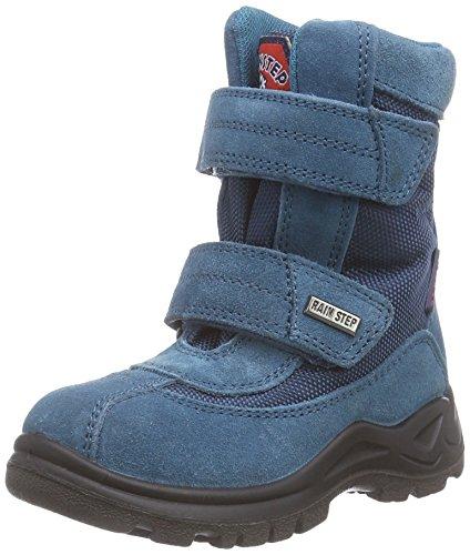 NaturinoNATURINO BARENTS - Stivaletti da neve a gamba corta, imbottitura pesante Unisex - Bambini, colore  Blu ( 9106Erdoel ), taglia 28