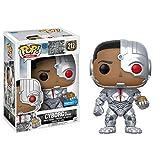 DC Funko Pop! Heroes Justice League – Cyborg – Figurine en Vinyle Bobble-Head