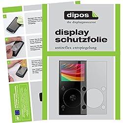 dipos I 6X Protection ecrán Mat Compatible avec FiiO X3 Mark III MP3-Player Films de Protection d'écran