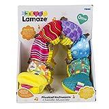 """Lamaze Babyspielzeug mit Musik """"Musik-Wurm"""" mehrfarbig – hochwertiges Kleinkindspielzeug – fördert den Tastsinn und das Hörvermögen Ihres Kindes – ab 0 Monate - 7"""
