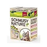 Schmusy Natures Menü Multipack 12x100g