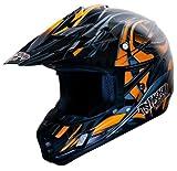 Nikko Helme Natas Enduro/Cross Helm, Matt Orange, XL
