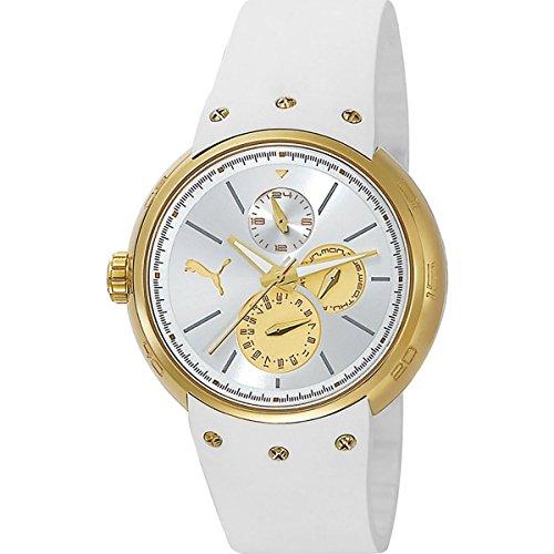 Puma PU102672004–Wristwatch women's, Polyurethane Strap White