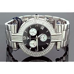 Unisex Aqua Master Diamond Watch 3.25 Ct W-93