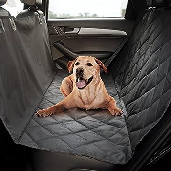 Animaux préférés Chien Housse de siège, matelassé antidérapant Technologie, étanche, hamac pour chien Protection de siège pour voitures, SUV et vans