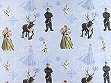 Baumwollstoff Disney, Elsa hellblau, Meterware ab 0,5 m /