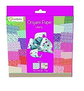 Avenida Mandarine 52509O - Origami de Papel de la Libertad, 20 x 20 cm, 60 FL, 70 g