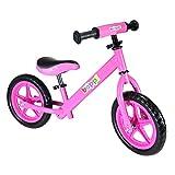 boppi® Bicicletta senza pedali in metallo 2-5 anni - Rosa