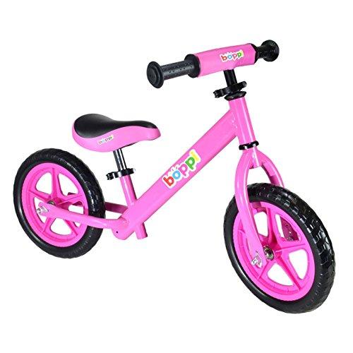 boppi Bicicleta sin pedales de metal para niños de 2-5 años