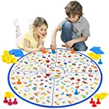 Image for board game VATOS Board Game, Kids Educational Board Game Little Detective Card Game Tabletop Game for Kids Families Party, Train Your Responsiveness Toys for Kids Toddlers 3,4,5,6,7 Years Old Boys & Girls Gift