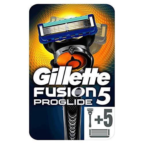 Gillette Fusion ProGlide - Maquinilla afeitar + 5