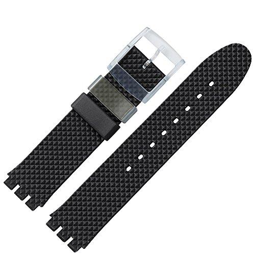 MARBURGER Unisex Kunststoff Uhrenarmband 9641870700520