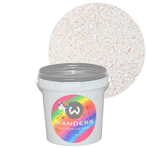 Wanders Einhornspucke Einhorn-Farbe Einhornfarbe Einhorn Wand-Farbe Glitzer-Effekt Wandfarbe-Glitter 1 Liter