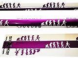 Bungypump multi colore, Bungy pompa Walkathlon, doppia funzione, fitness da trekking, 4kg e 6kg di resistenza incorporata o fisso Pole per Nordic Walking, escursionismo, trekking, Nordic Evolution Woman