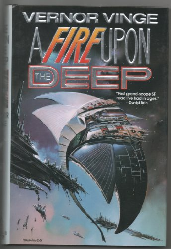Book cover for A Fire Upon the Deep