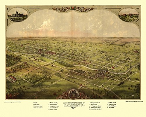 antique-map-of-lansing-michigan-1866-ingham-county-kunstdruck-4572-x-6096-cm