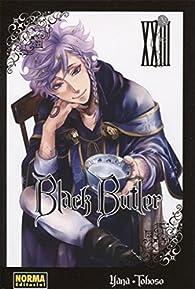 Black Butler 23 par Yana Toboso