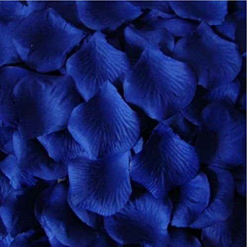 200 top quality royal blue silk rose petals wedding table 200 top quality royal blue silk rose petals wedding table confetti decorations by polysgems amazon kitchen home junglespirit Gallery