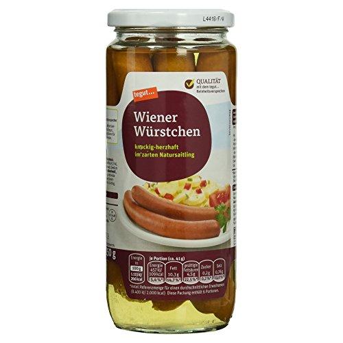 Tegut Wiener Würstchen, 250 g