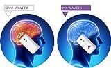 WAVEEX - 1 Stck -Aufkleber als Strahlenschutz vor Magnetfeld, Elektrosmog, Handystrahlung - Handy Blocker und elektromagnetische Felder, EMF Zubehör