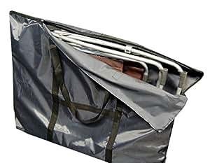 Housse de protection sac de transport pour chaise relax lafuma siesta l 102 x 83 cm for Housse de relax de jardin