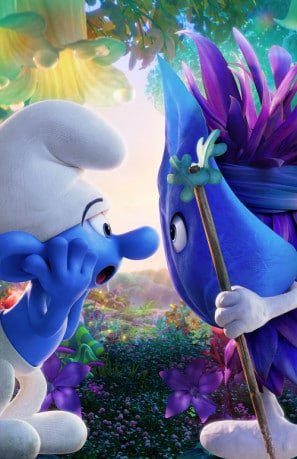 smurfs-the-lost-village-us-textless-imported-movie-wall-poster-print-30cm-x-43cm-brand-new