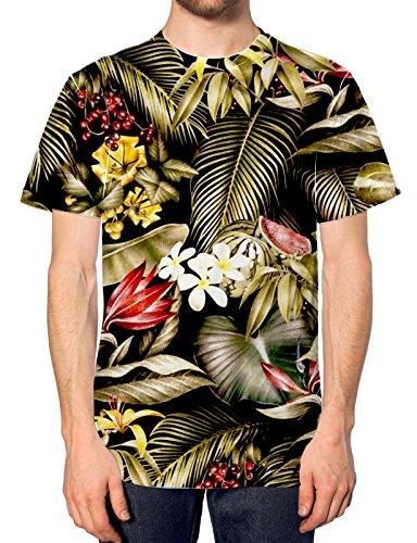Animales-de-la-jungla-diseo-de-rodaja-de-sanda-en-toda-la-superficie-T-camiseta-de-manga-corta-para-hombre-Tropical-en-la-parte-superior-y-Summer-Palm-Indie-Shop-pantalones-de-deporte-para-mujer