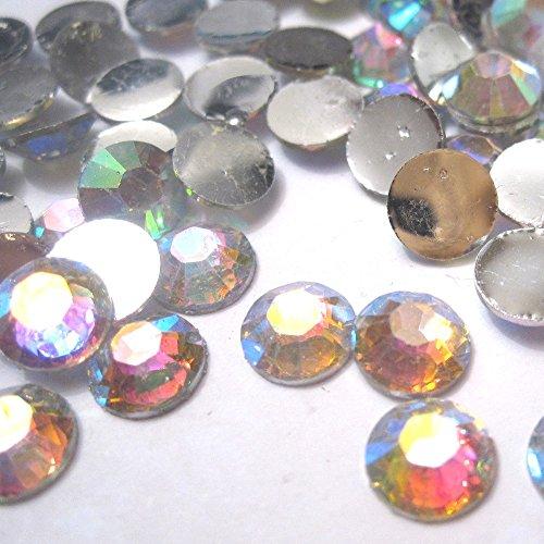 k2-accessories-1000-pcs-cabochon-retro-piatto-per-gemme-di-strass-resina-biglietti-scrapbooking-nail