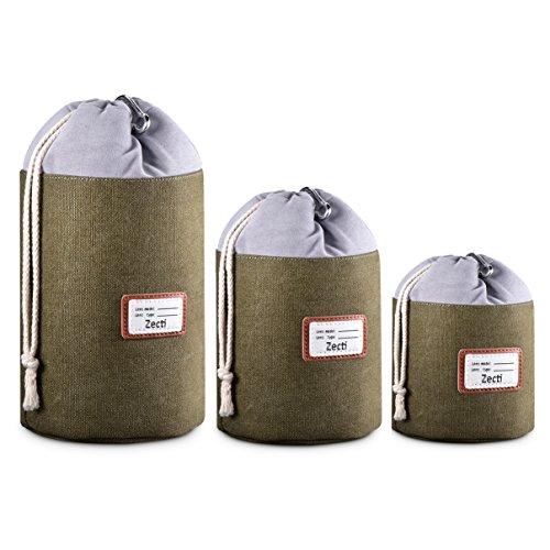 Zecti Funda Objetivo Paquete 3 cubiertas impermeables