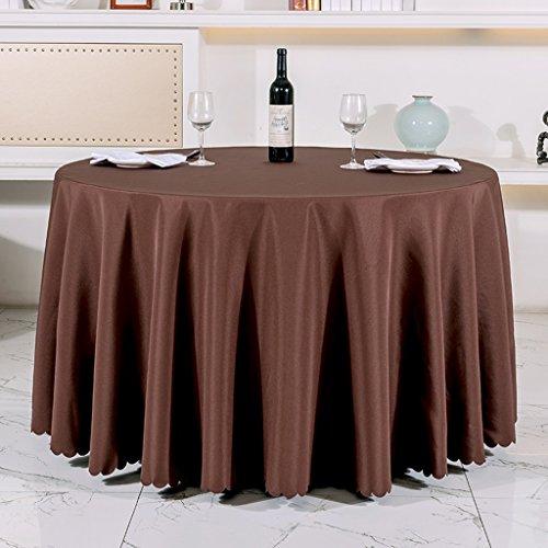 BSNOWF- Nappes Banquet Accueil Pique-nique Nappe de mariage Restaurant Hôtel Nappe Rond Rectangulaire Forme carrée Maillot Taille En option ( taille : 140*140cm )