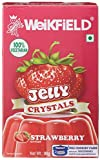 #9: Weikfield Jelly Crystals, Strawberry, 90g